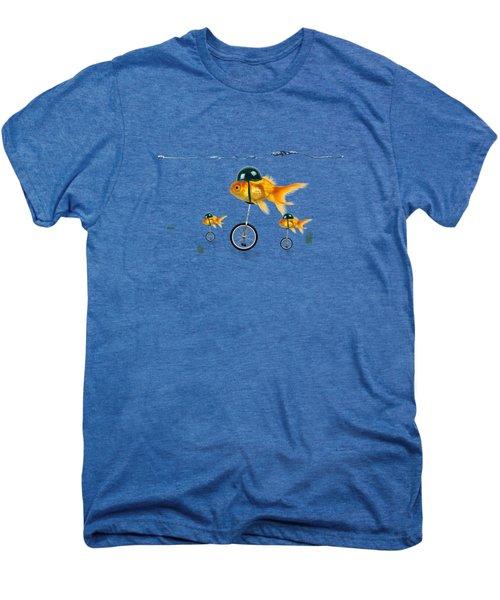 The Race  Men's Premium T-Shirt by Mark Ashkenazi