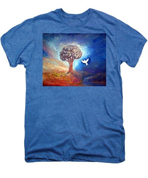 The Tree Men's Premium T-Shirt by Winsome Gunning