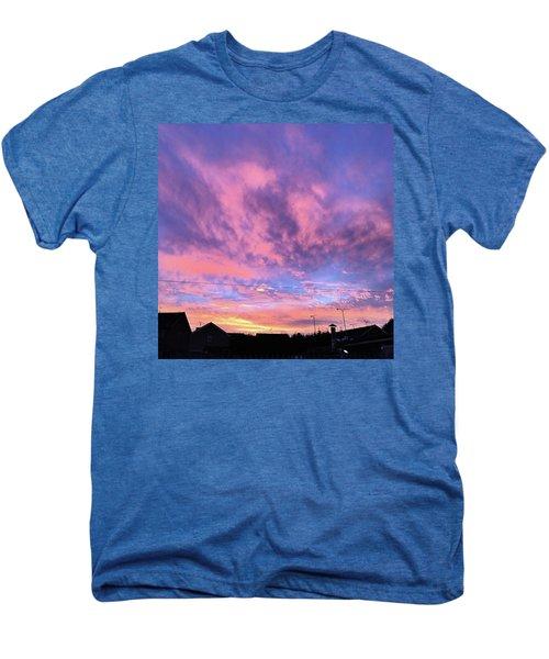 Tonight's Sunset Over Tesco :) #view Men's Premium T-Shirt