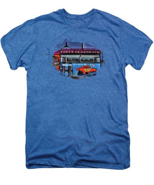 Tonys Crabshack Men's Premium T-Shirt by Thom Zehrfeld