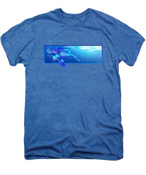 Underwater Sea Turtle Men's Premium T-Shirt