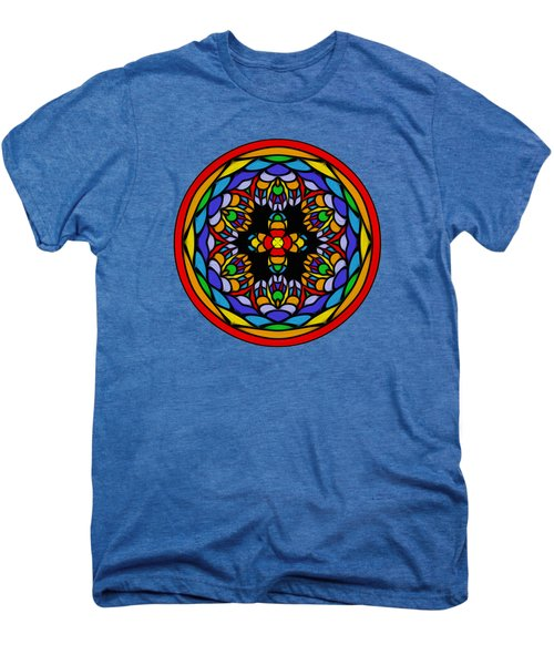 Vibrant Pattern Orb By Kaye Menner Men's Premium T-Shirt