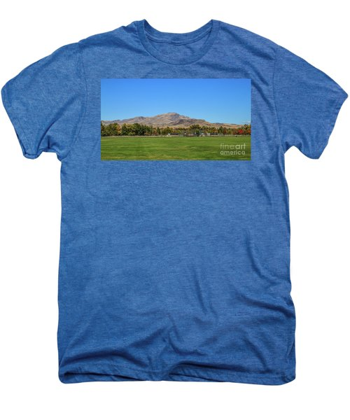 View From Gem Island Sport Complex Men's Premium T-Shirt