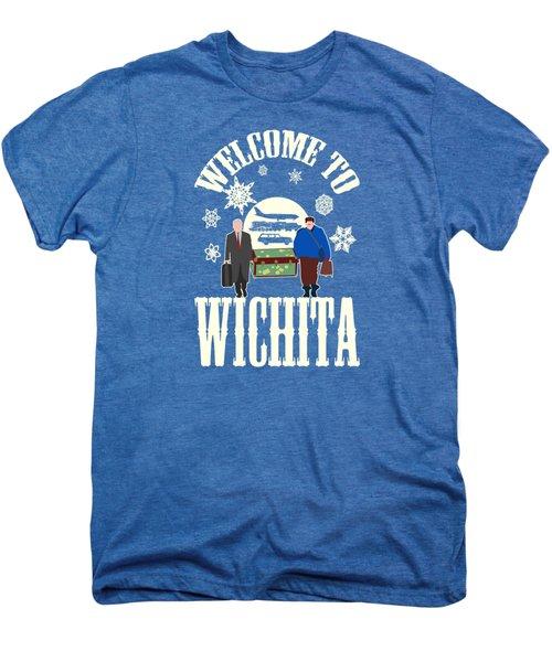 Welcome To Wichita  Men's Premium T-Shirt