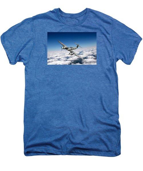 Westland Whirlwind Portrait Men's Premium T-Shirt by Gary Eason