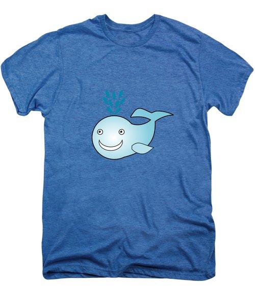 Whale - Animals - Art For Kids Men's Premium T-Shirt by Anastasiya Malakhova