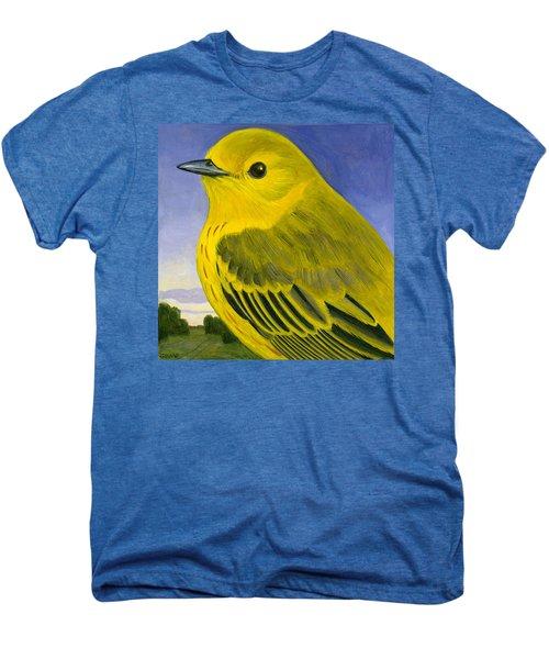 Yellow Warbler Men's Premium T-Shirt by Francois Girard