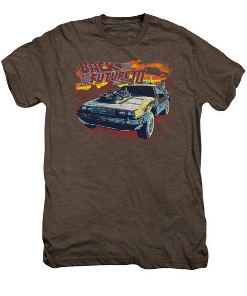 Back To The Future IIi - Wild West Men's Premium T-Shirt