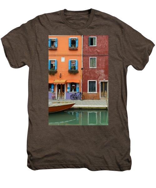 Burano Italy Men's Premium T-Shirt