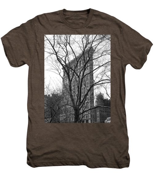 Flat Iron Tree Men's Premium T-Shirt