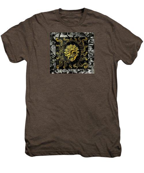 Men's Premium T-Shirt featuring the photograph Golden God by Nareeta Martin