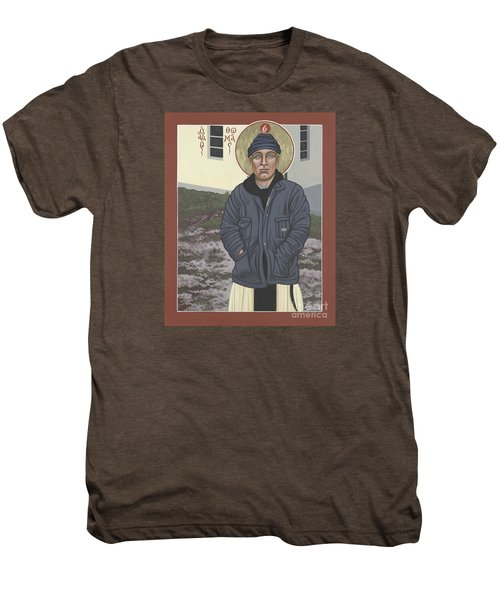 Holy World Evangelist Thomas Merton 267 Men's Premium T-Shirt