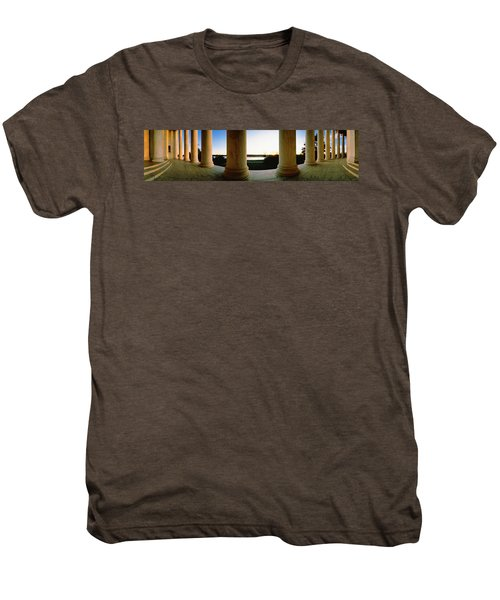 Jefferson Memorial Washington Dc Usa Men's Premium T-Shirt by Panoramic Images