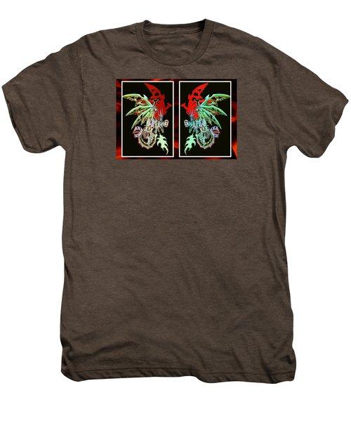 Mech Dragons Pastel Men's Premium T-Shirt