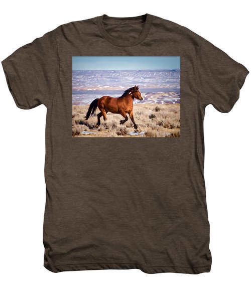 Eagle - Wild Horse Stallion Men's Premium T-Shirt