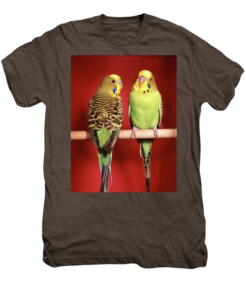 1960s Pair Of Two Yellow Green Men's Premium T-Shirt