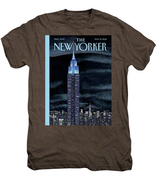 New Yorker November 19th, 2012 Men's Premium T-Shirt