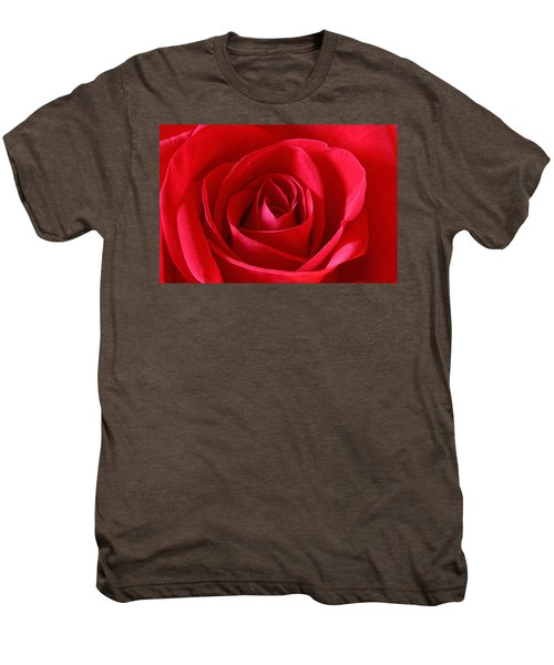 Red Rose Men's Premium T-Shirt