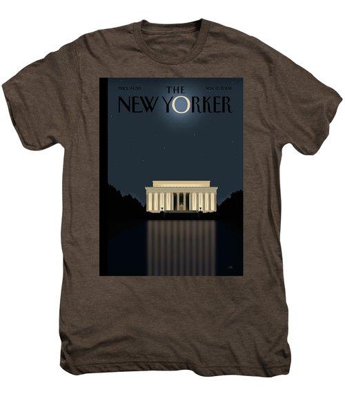 New Yorker November 17th, 2008 Men's Premium T-Shirt