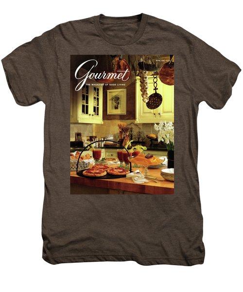 A Buffet Brunch Party Men's Premium T-Shirt by Romulo Yanes