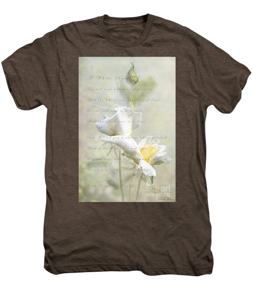 A White Rose Men's Premium T-Shirt