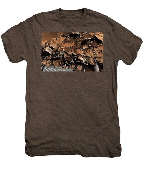 Alexander Hills Bedrock In Mars Men's Premium T-Shirt