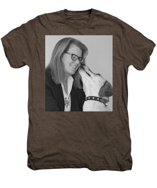 Andrew And Andree Bw Men's Premium T-Shirt
