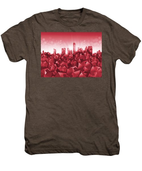 Austin Skyline Geometry Men's Premium T-Shirt