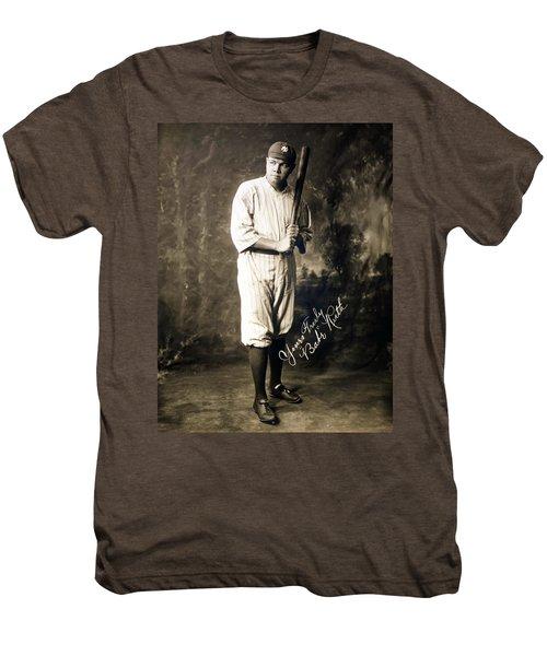Babe Ruth 1920 Men's Premium T-Shirt by Mountain Dreams
