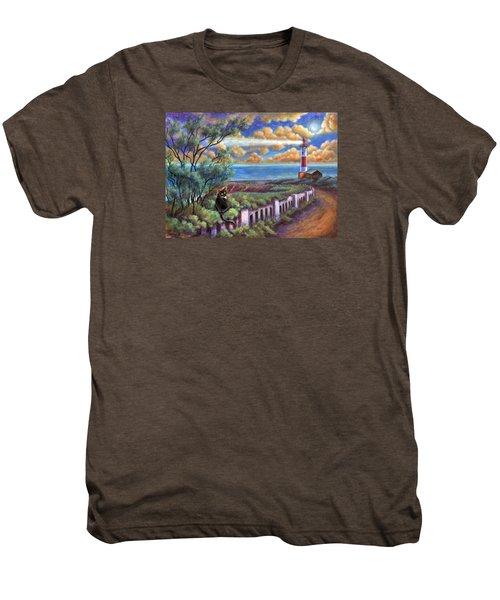 Beacons In The Moonlight Men's Premium T-Shirt