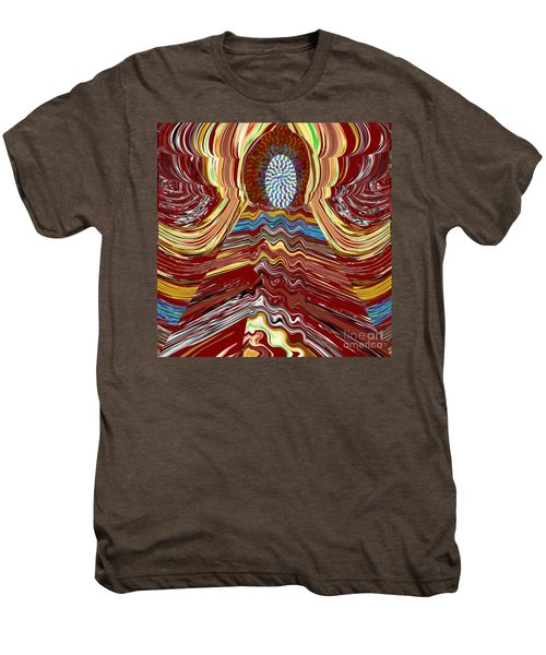 Bridge To Holy Grail Of Mystical Energies Whimisical Abstract By Navinjoshi At Fineartamerica.com  Men's Premium T-Shirt