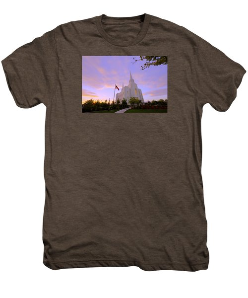 Brigham City Temple I Men's Premium T-Shirt