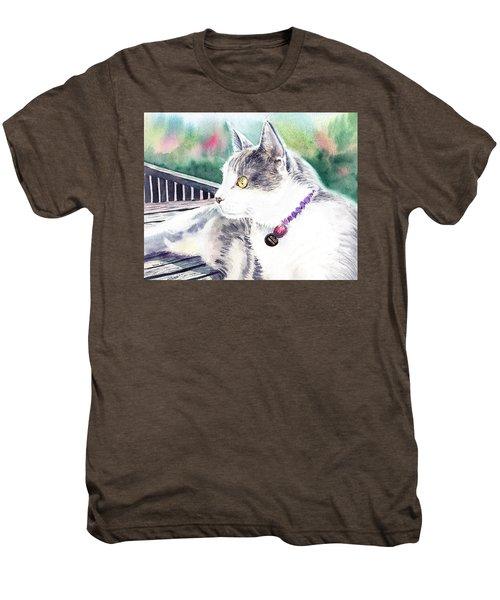 Cat Men's Premium T-Shirt
