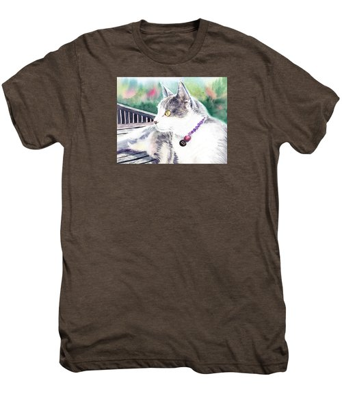 Cat Men's Premium T-Shirt