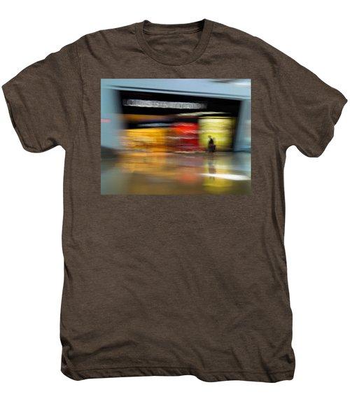 Closing In Men's Premium T-Shirt by Alex Lapidus