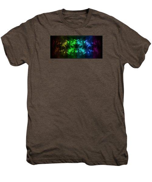 Cosmic Alien Eyes Pride Men's Premium T-Shirt