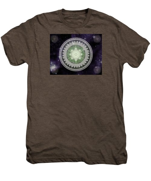 Cosmic Medallions Earth Men's Premium T-Shirt