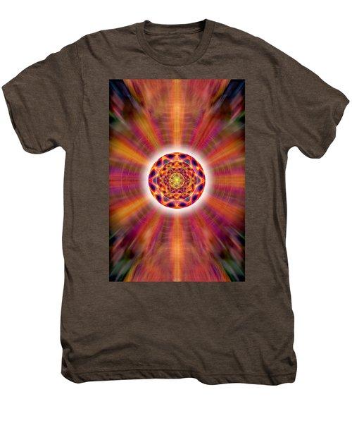 Crystal Ball Of Light Men's Premium T-Shirt by Derek Gedney