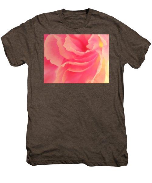 Curling Blossom Men's Premium T-Shirt