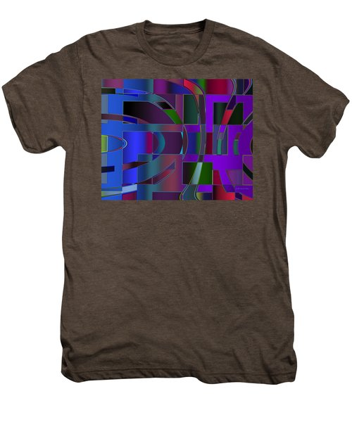 Curves And Trapezoids 2 Men's Premium T-Shirt