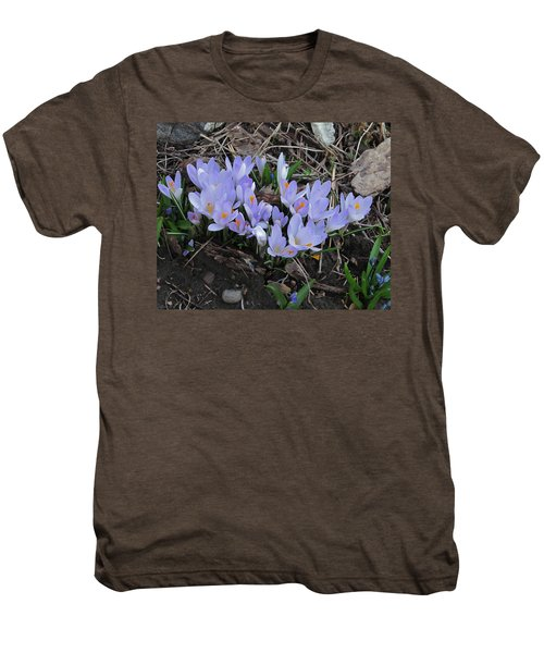 Early Crocuses Men's Premium T-Shirt