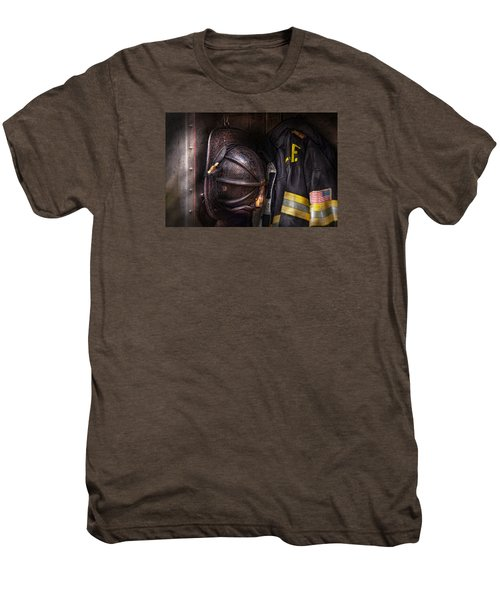Fireman - Worn And Used Men's Premium T-Shirt
