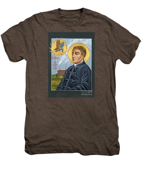 Fr. Gerard Manley Hopkins The Poet's Poet 144 Men's Premium T-Shirt