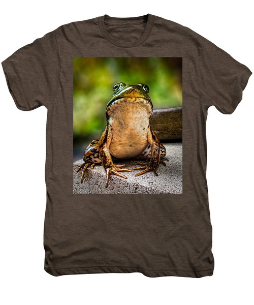 Frog Prince Or So He Thinks Men's Premium T-Shirt