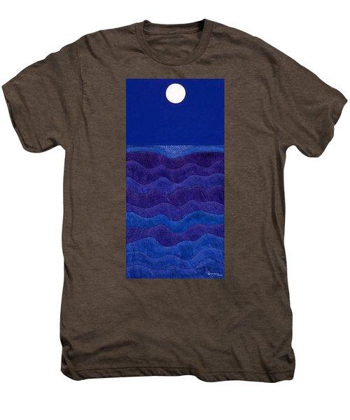 Full Moonscape II Men's Premium T-Shirt