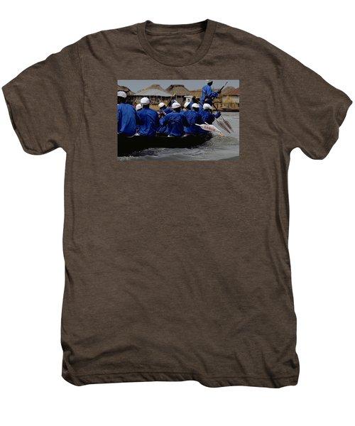 Ganvie - Lake Nokoue Men's Premium T-Shirt