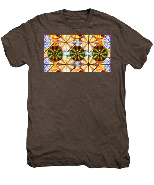 Geometric Dreamland Men's Premium T-Shirt