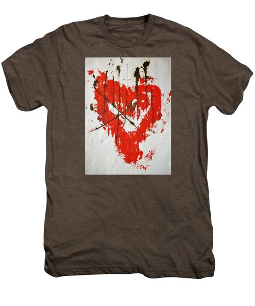 Heart Flash Men's Premium T-Shirt