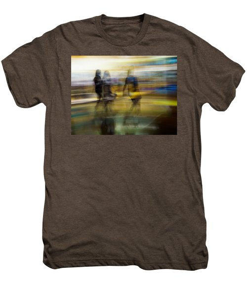 I Had A Dream That You And Your Friends Were There Men's Premium T-Shirt by Alex Lapidus