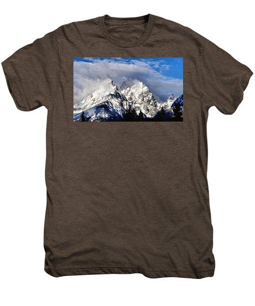 The Teton Range Men's Premium T-Shirt